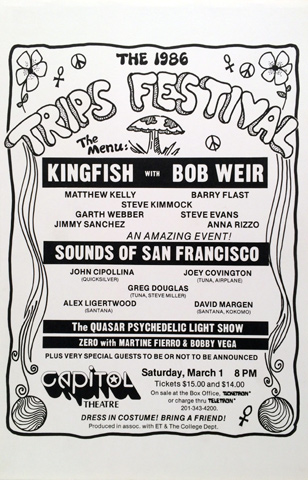 1986 Trips Festival Poster