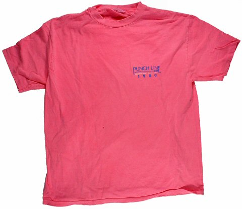1989 Punchline Performers Men's Vintage T-Shirt