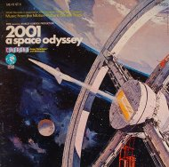 "2001 A Space Odyssey, Music from the Motion Picture Sound Track Vinyl 12"" (Used)"