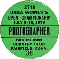 27th USGA Women's Open Championship Backstage Pass