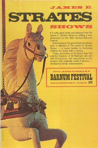 30th Anniversary Barnum FestivalPoster