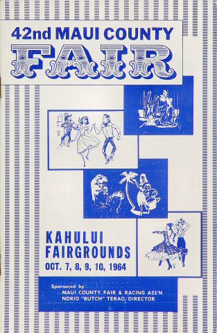 42nd Maui County Fair Program