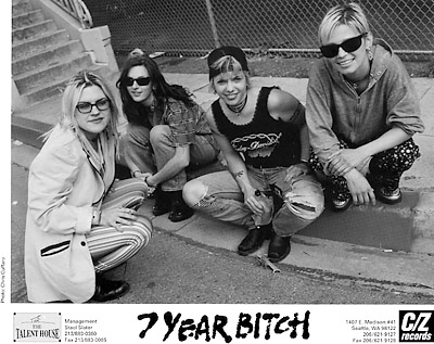 7 Year Bitch Promo Print