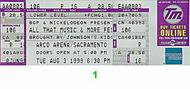 98 Degrees 1990s Ticket