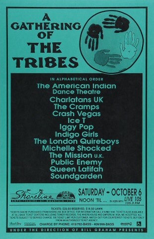 A Gathering of the Tribes Poster