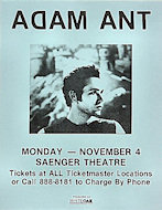Adam Ant Handbill