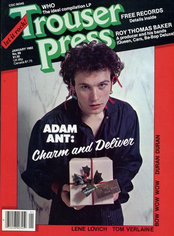 Adam AntTrouser Press Magazine