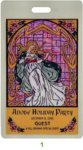 Adobe Systems Holiday Party Laminate