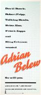 Adrian Belew Poster