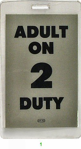 Adult On Duty Laminate