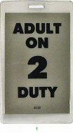 Adult On Duty Laminate