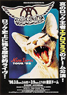Aerosmith Handbill