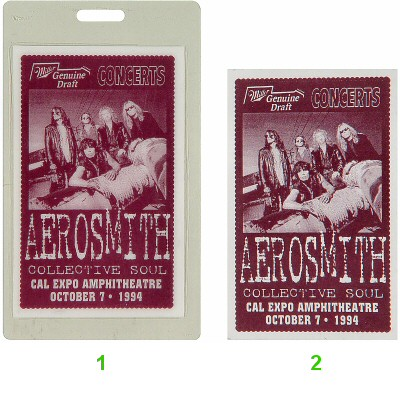Aerosmith Laminate