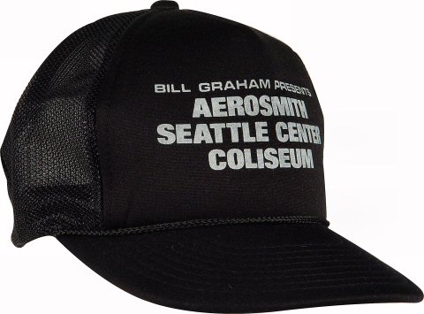 Aerosmith Men's Vintage Hat