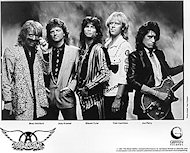 Aerosmith Promo Print