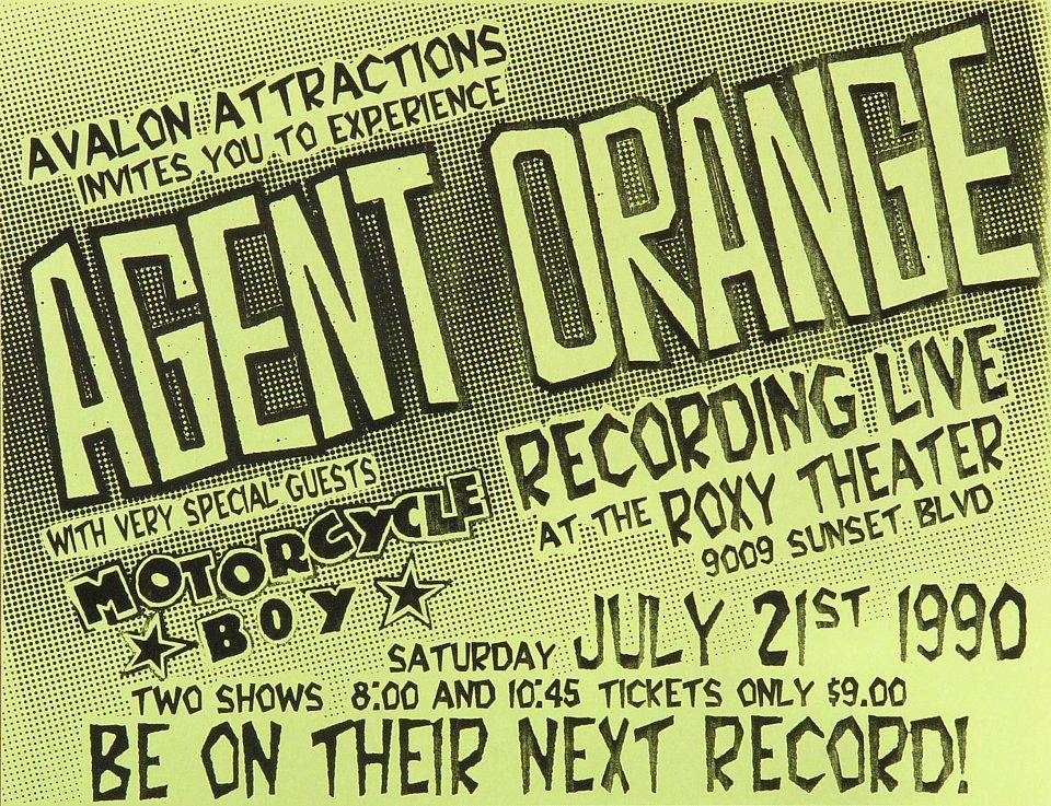 Agent OrangeHandbill
