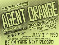 Agent Orange Handbill