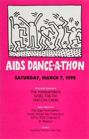 Aids Dance-A-Thon Program