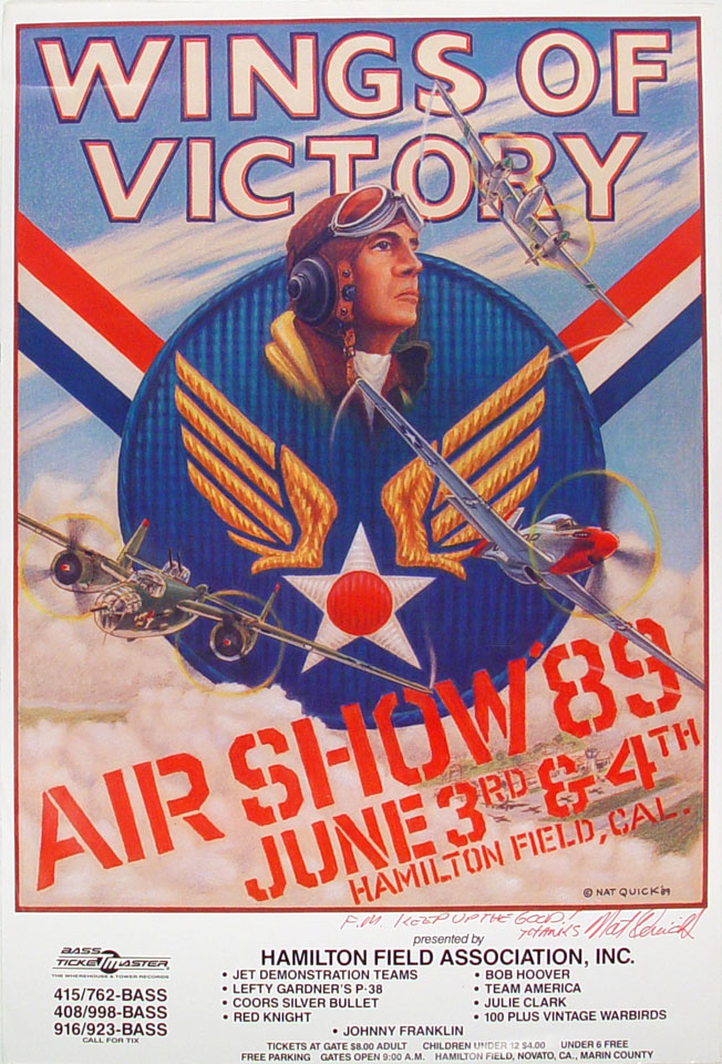 Air Show '89 Poster