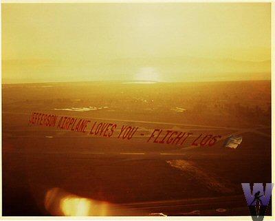 Airplane Banner Vintage Print