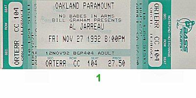 Al Jarreau1990s Ticket
