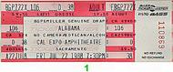 Merle Haggard 1980s Ticket