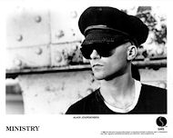 Alain Jourgensen Promo Print