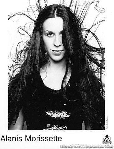 Alanis MorissettePromo Print