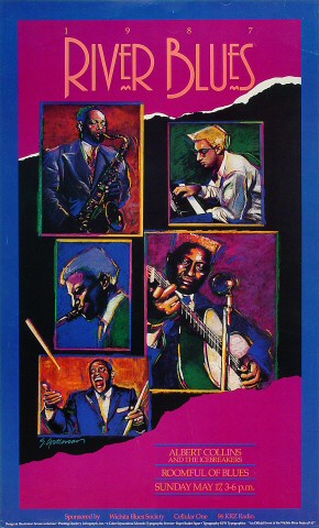 Albert Collins and the Ice Breakers Poster