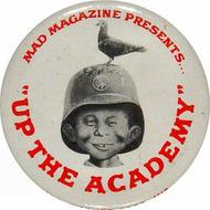 Alfred E. Neuman Vintage Pin