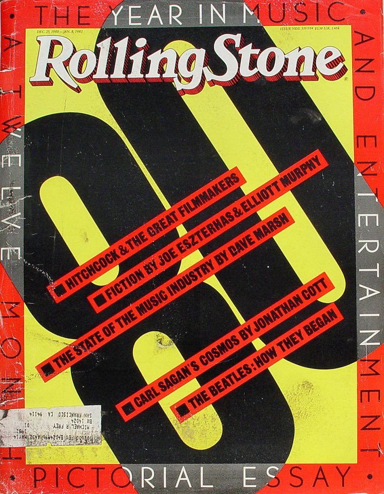 Alfred Hitchcock Rolling Stone Magazine