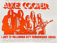 Alice Cooper Handbill