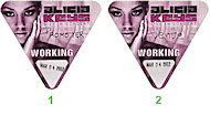 Alicia Keys Backstage Pass