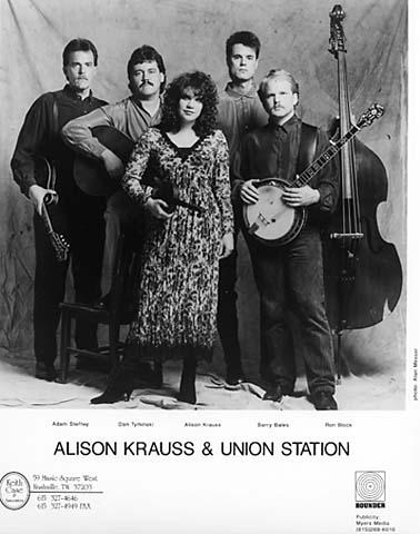Alison Krauss & Union StationPromo Print