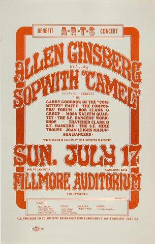 Allen Ginsberg Handbill