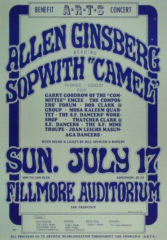 Allen Ginsberg Poster