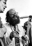 Allen Ginsberg Premium Vintage Print