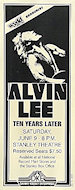 Alvin Lee Poster