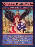 America Be Vigilant Poster