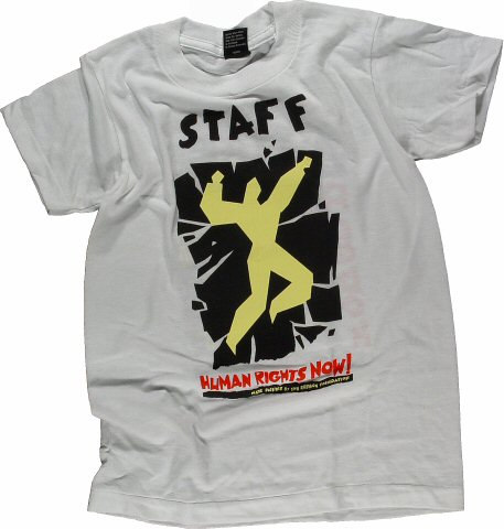 Amnesty International Benefit Kid's Vintage T-Shirt