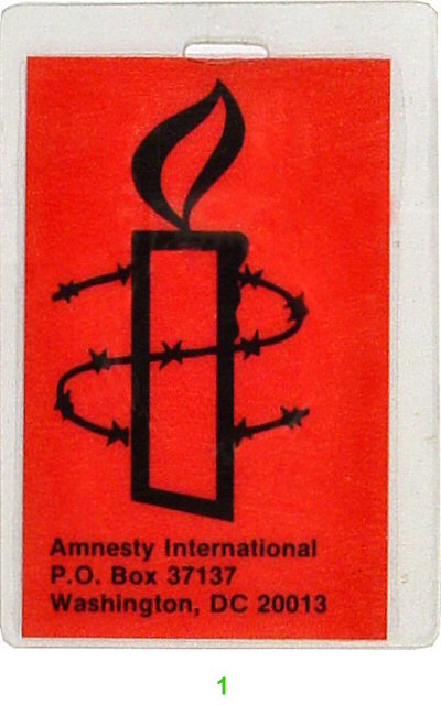 Amnesty International Laminate