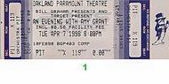 Amy Grant 1990s Ticket