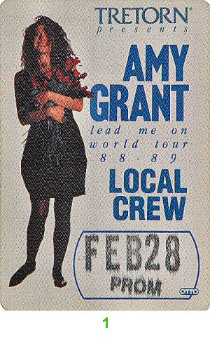 Amy GrantBackstage Pass