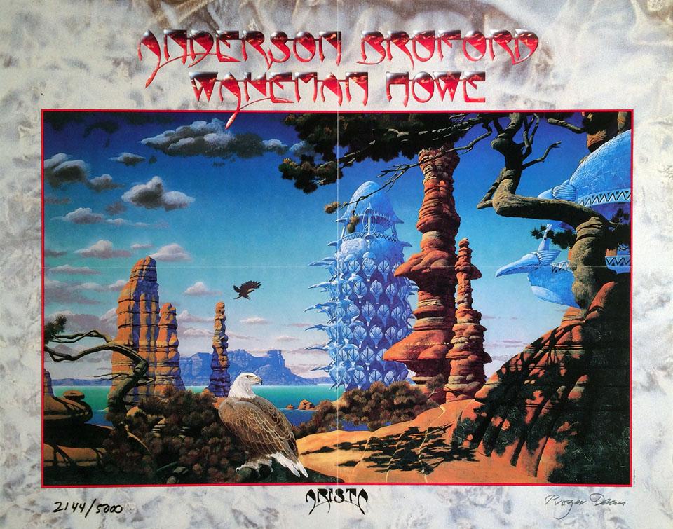 Anderson Bruford Wakeman Howe Poster