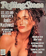 Andie Macdowell Rolling Stone Magazine