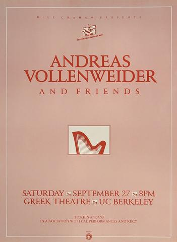 Andreas Vollenweider Poster