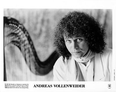 Andreas Vollenweider Promo Print