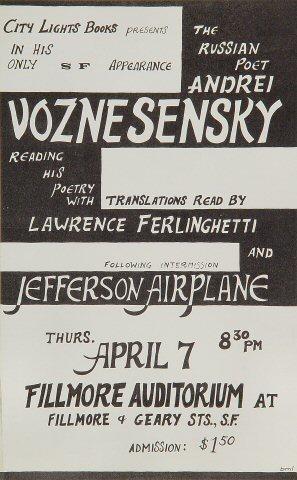 Andrei Voznesensky Handbill