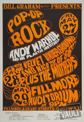 Andy Warhol and His Plastic InevitablePostcard