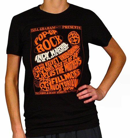 Andy Warhol and His Plastic InevitableWomen's T-Shirt